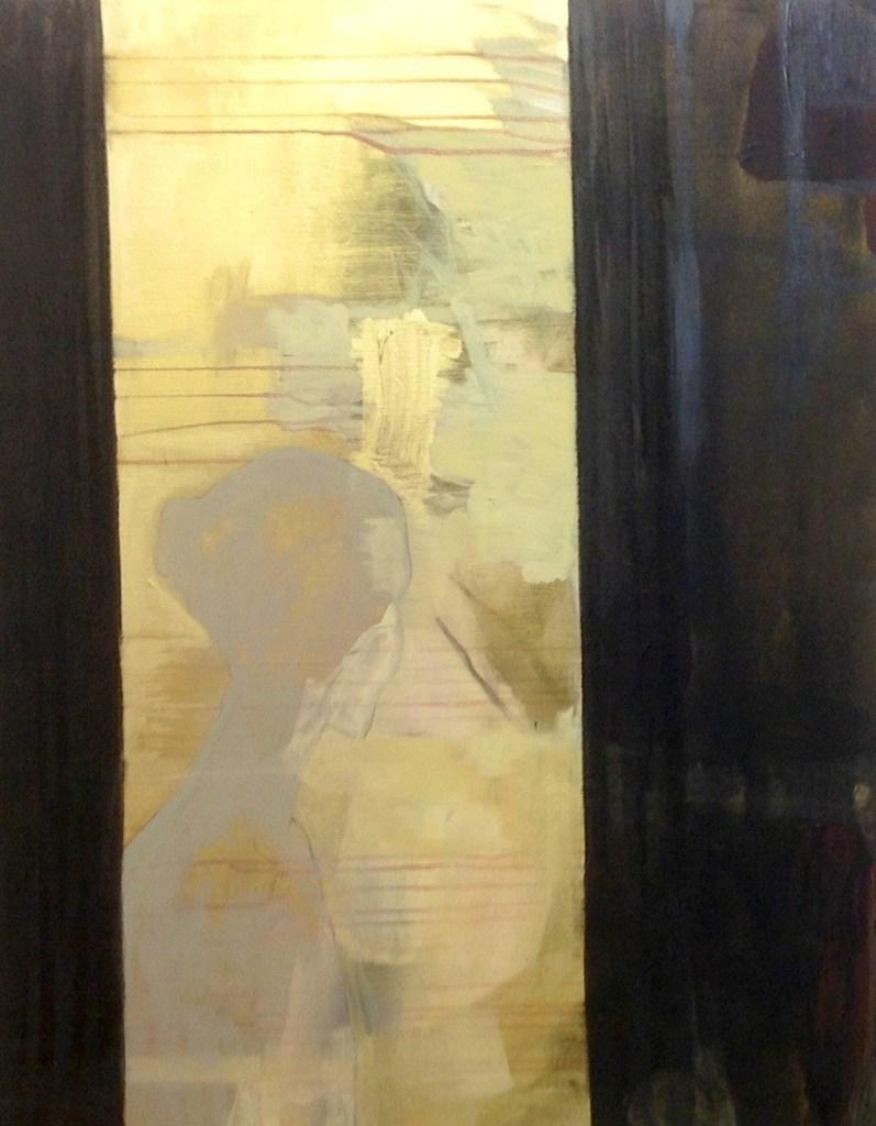 Utsikt - Acryl på lerret, 90 x 100 cm - solgt