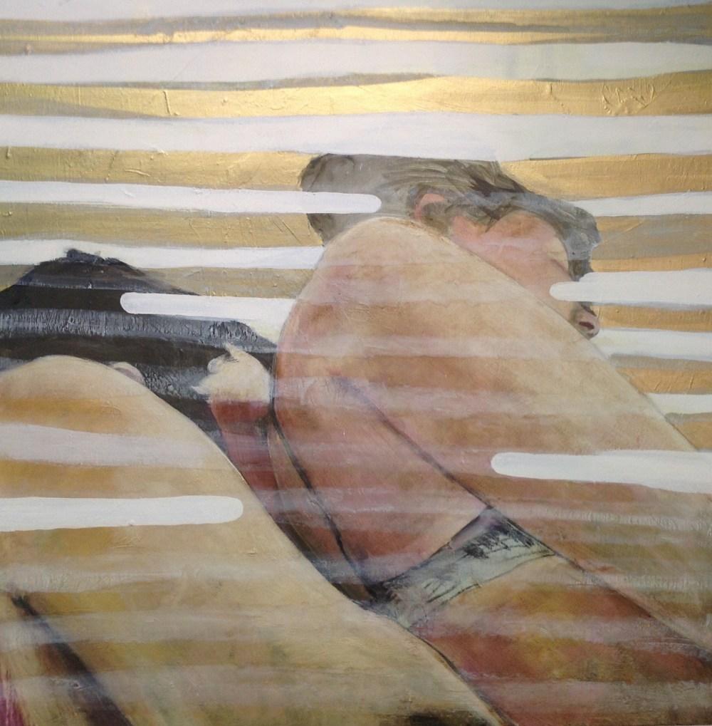 Preludium - Acryl på lerret, 80 x 80 cm - solgt