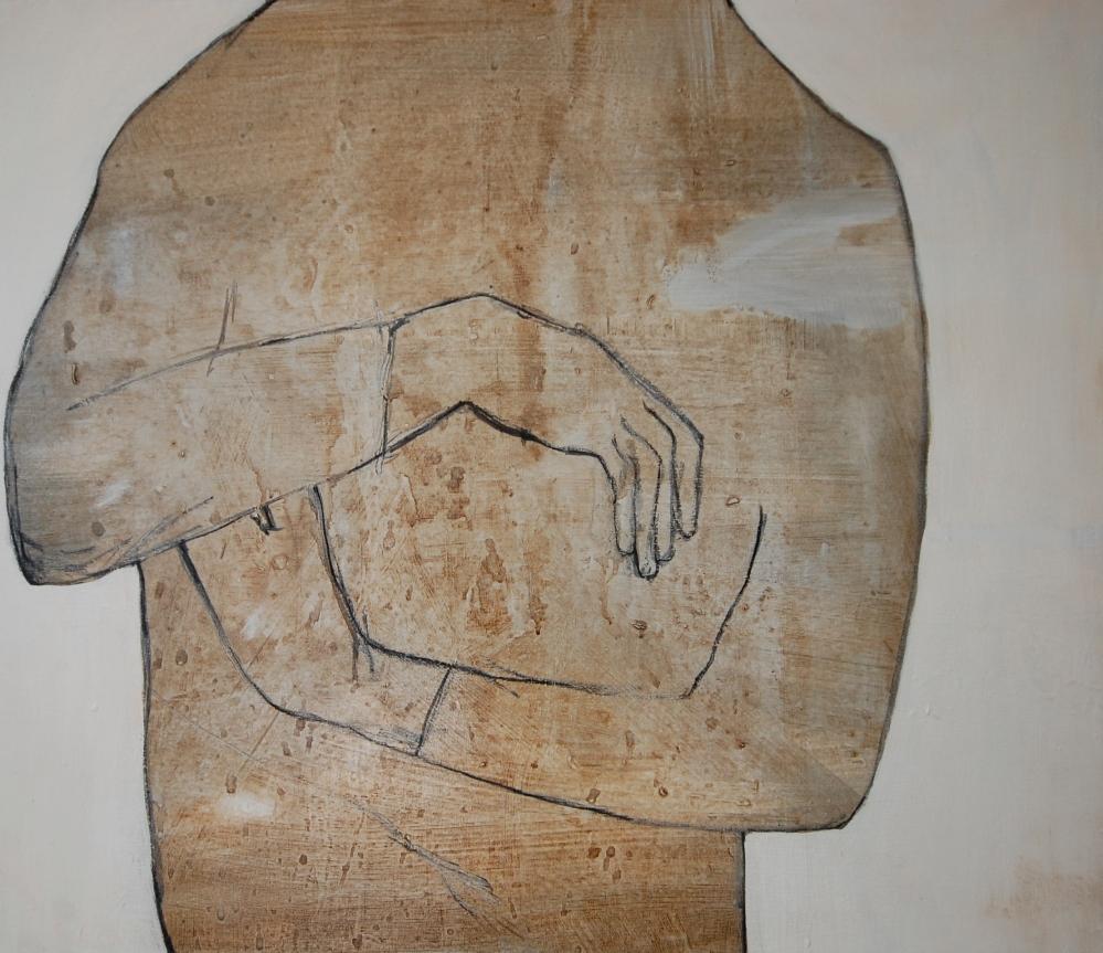 Ta vare på, Acryl på lerret, 60 x 80 - solgt